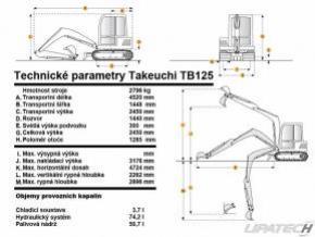 minibagr Takeuchi Tb 125 (3t) #2