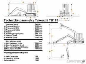minibagr Takeuchi TB 175 (7.5t) #2